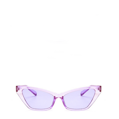 Sinner | Classic Angular Cat-Eye Sunglasses in Purple