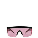 Hyper | Flat-Top Rectangle Sport Sunglasses in Pink