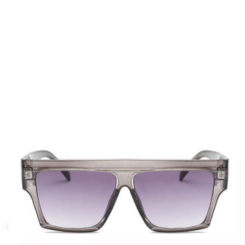 Oasis | Flat-Top Square Sunglasses in Grey
