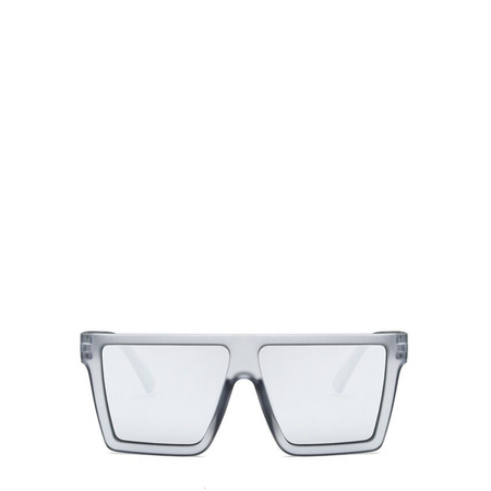 Banger | Retro Rectangle Oculus in Clear