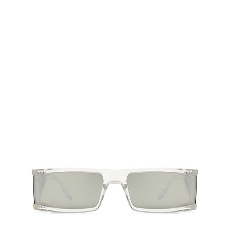 Ari | Metallic Cat-Eye Sunglasses in Black