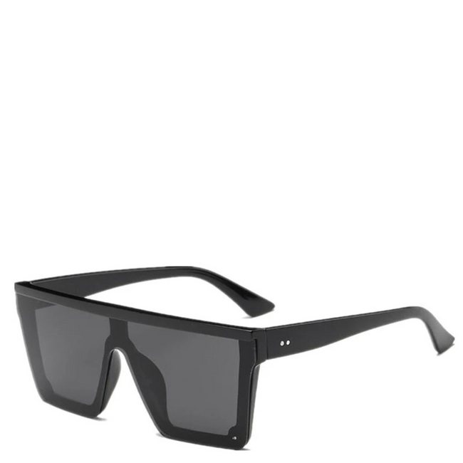 Kenzo | Flat-Top Square Sunglasses in Black