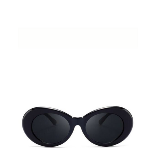 Clout Mod Goggle Sunglasses in Black