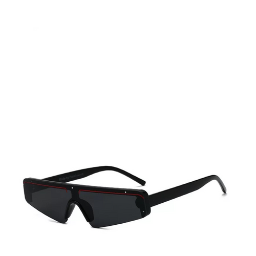 Euro | Sleek Futuristic Sunglasses in Black
