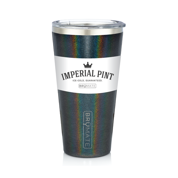 Imperial Pint™ by BrüMate | Glitter Charcoal
