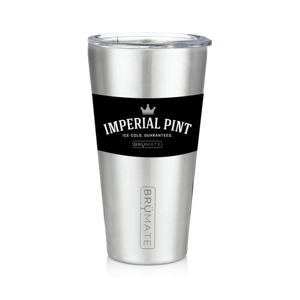 Imperial Pint™ by BrüMate | Stainless