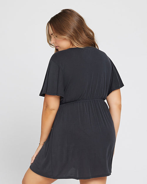 Black Lana Dress Cover-Up L*Space