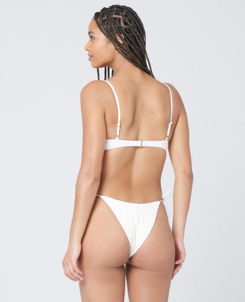 White Marley Top & Aubree Bottom by L*Space