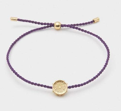 Crown Chakra Coin Bracelet by Gorjana