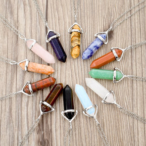 Natural Stone Necklace (More Colors)