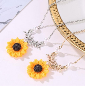 Sunflower Pendant by Wavy Breeze™