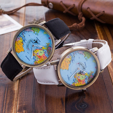Wanderlust Map Watch
