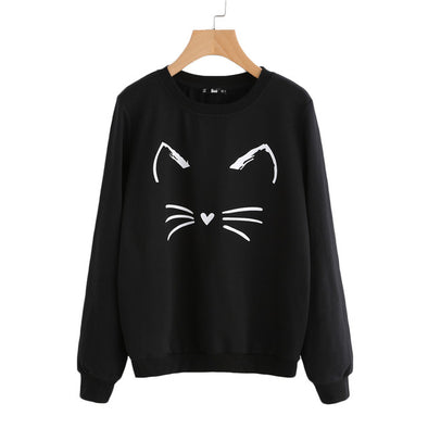 Cartoon Cat Sweater