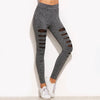 Marled Mesh Leggings