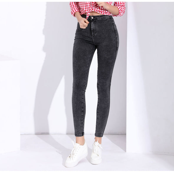 Garemay Skinny Jeans Woman Pantalon Femme Denim Pants Strech Womens Colored Tight Jeans With High Waist Women's Jeans High Waist