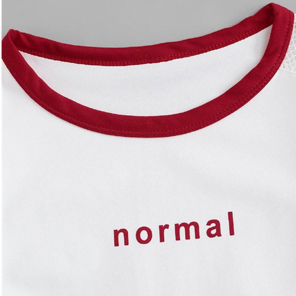 Normal Red Outline Cute Set