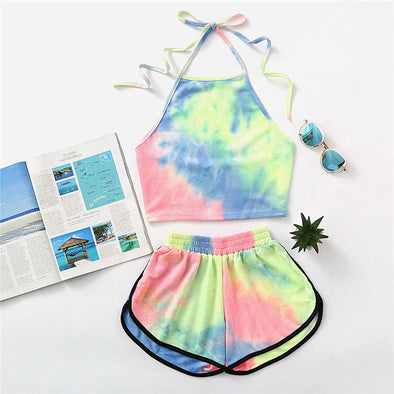 Halter Green Water Color Set