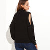Black Elegant Turtleneck Sweater