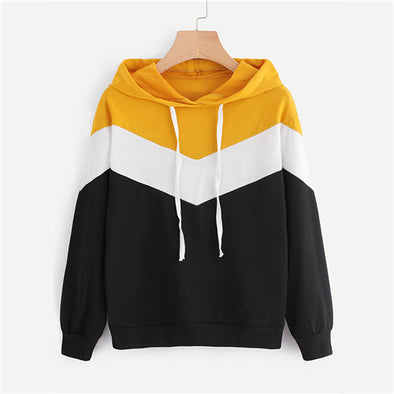 Hooded Cut And Sew Hoodie