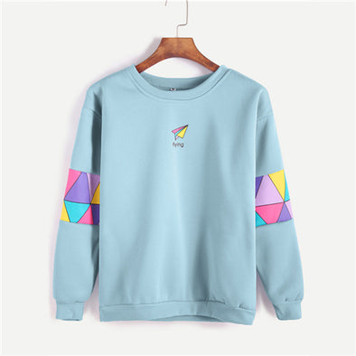 Pale Blue Sweatshirt Pullover