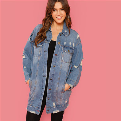 Blue Rock Denim Jean Coat