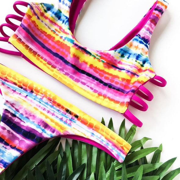 Shining Brazilian Summer Bikini Set