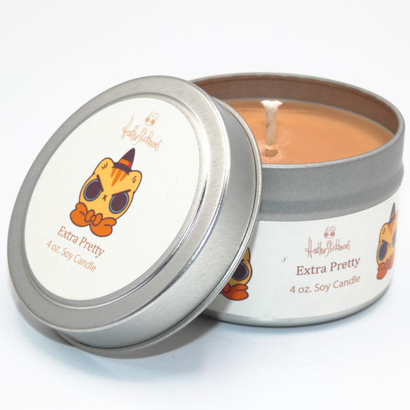 Extra Pretty- Heathersketcheroos Officially Licensed- Soy Vegan Candle