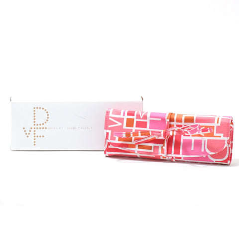 Accessories - DIANE VON FURSTENBERG COSMETIC BAG ROLL FOR BRUSHES
