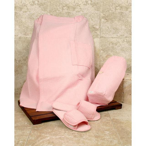 Accessories - PRETTY IN PINK SPA SET - SPA WRAP