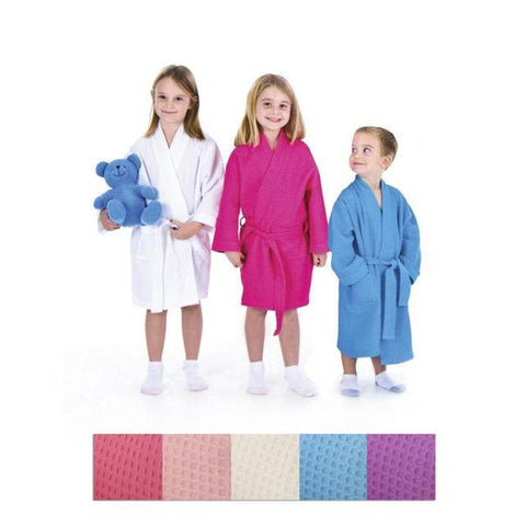 Accessories - SPACIFIC CHILDREN'S WAFFLE WEAVE ROBE