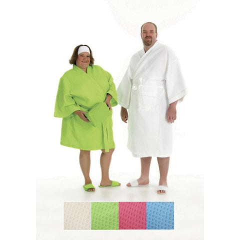 Accessories - SPACIFIC WOMENS PLUS SIZE COTTON WAFFLE SPA ROBE