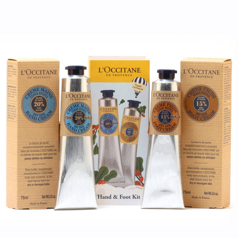 Bath And Body - L'OCCITANE DRY HAND & FOOT SET