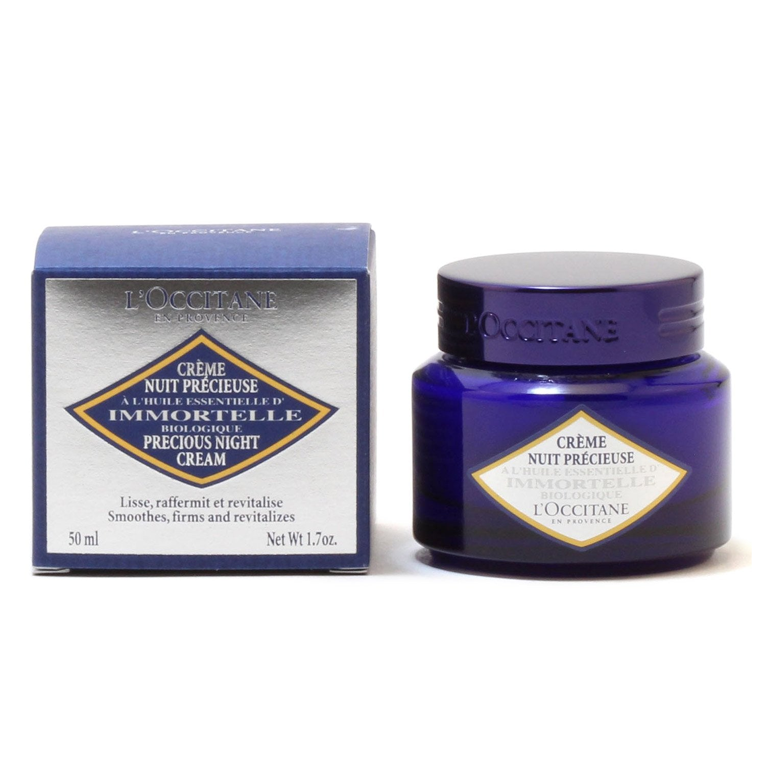 Bath And Body - L'OCCITANE IMMORTELLE PRECIOUS NIGHT CREAM, 1.7 OZ