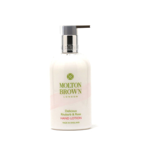 Bath And Body - MOLTON BROWN DELICIOUS RHUBARB & ROSE HAND LOTION, 10.0 OZ