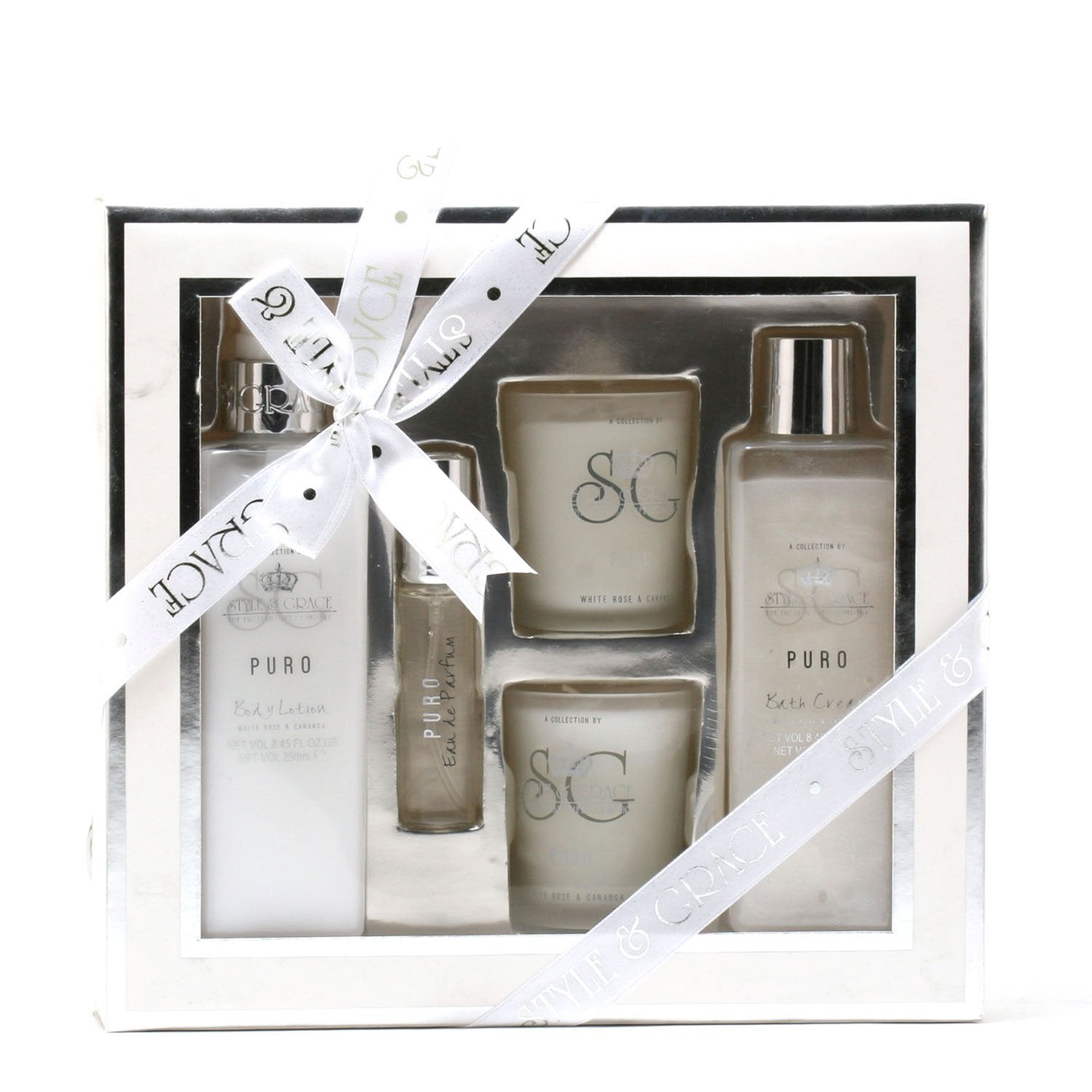 Bath And Body - PURO TRANQUIL BY STYLE & GRACE - BATH EXPERIENCE GIFT SET
