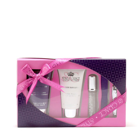 Bath And Body - STYLE & GRACE SIGNATURE COLLECTION PAMPER KIT - GIFT SET