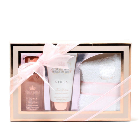 Bath And Body - STYLE & GRACE UTOPIA FOOT CARE PAMPER KIT - GIFT SET