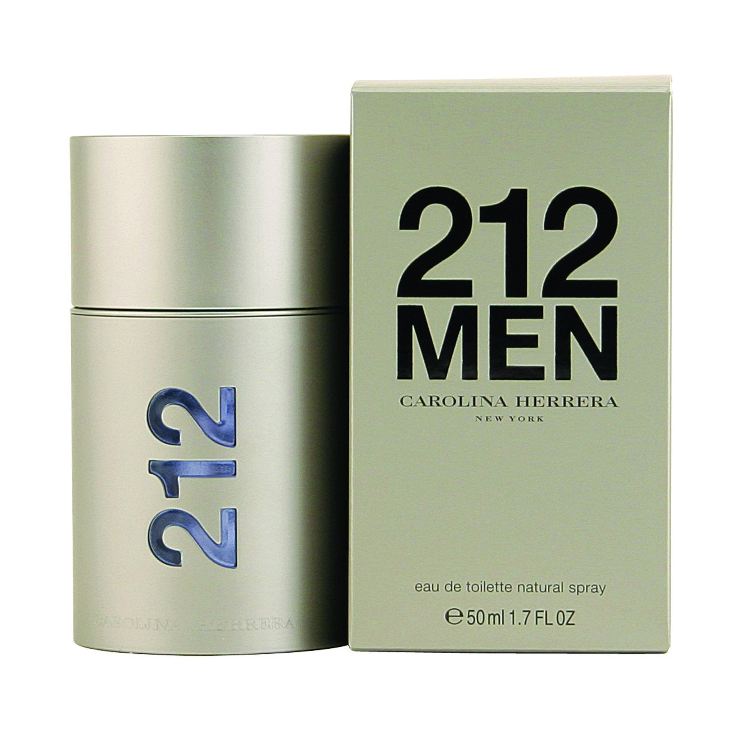 Cologne - 212 MEN BY CAROLINA HERRERA - EAU DE TOILETTE SPRAY