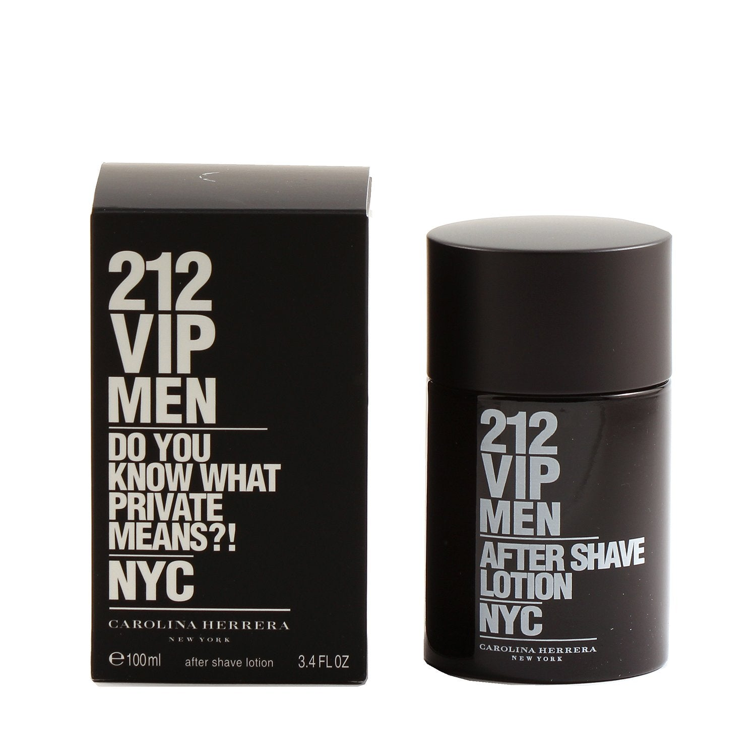 Cologne - 212 VIP MEN BY CAROLINA HERRERA - AFTER SHAVE LOTION, 3.4 OZ
