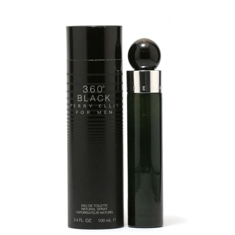 Cologne - 360 BLACK FOR MEN BY PERRY ELLIS - EAU DE TOILETTE SPRAY, 3.4 OZ