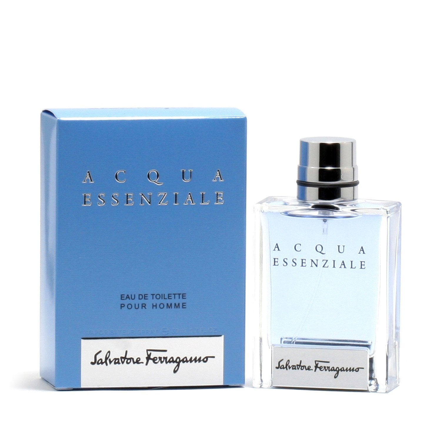 Cologne - ACQUA ESSENZIALE FOR MEN BY SALVATORE FERRAGAMO - EAU DE TOILETTE SPRAY, 1.7 OZ
