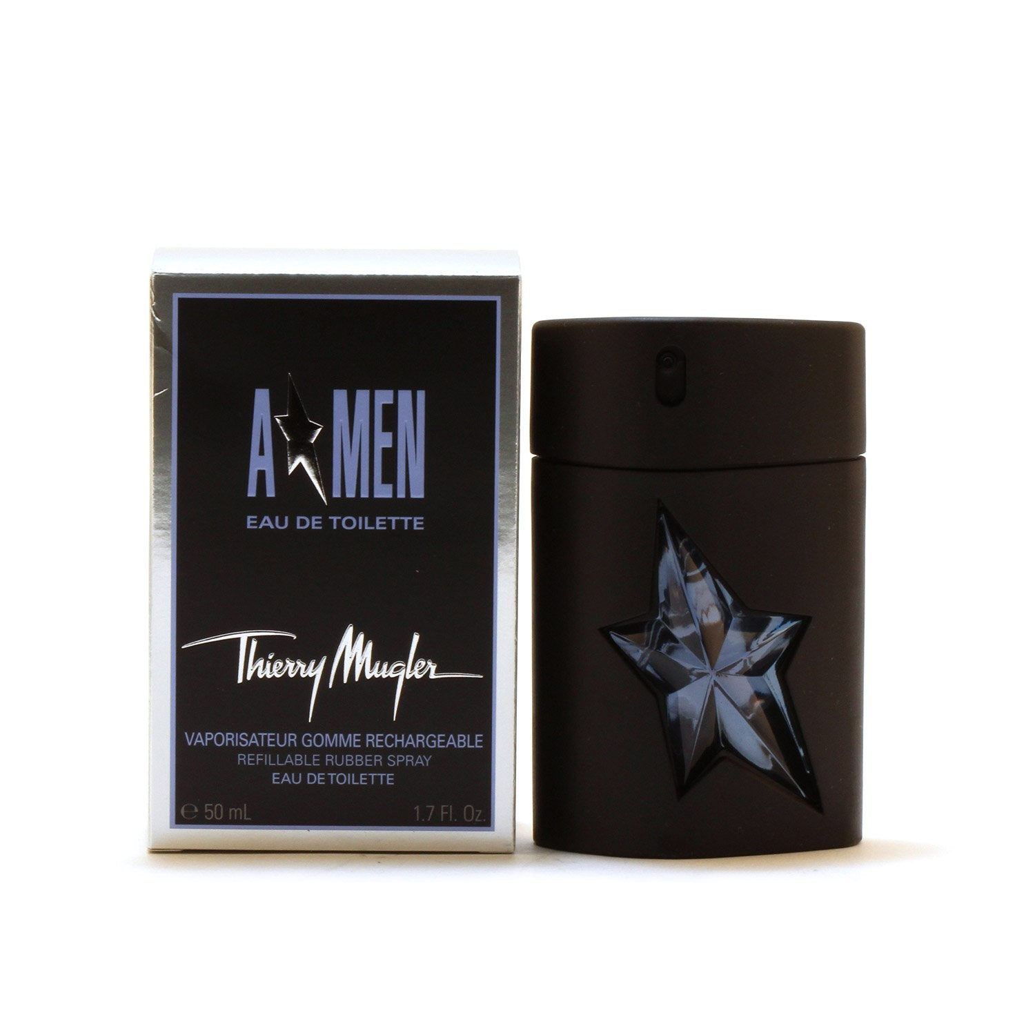 Cologne - ANGEL A*MEN FOR MEN BY THIERRY MUGLER REFILLABLE - EAU DE TOILETTE SPRAY