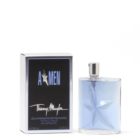 Cologne - ANGEL A*MEN FOR MEN BY THIERRY MUGLER REFILLABLE - EAU DE TOILETTE SPRAY, 3.4 OZ