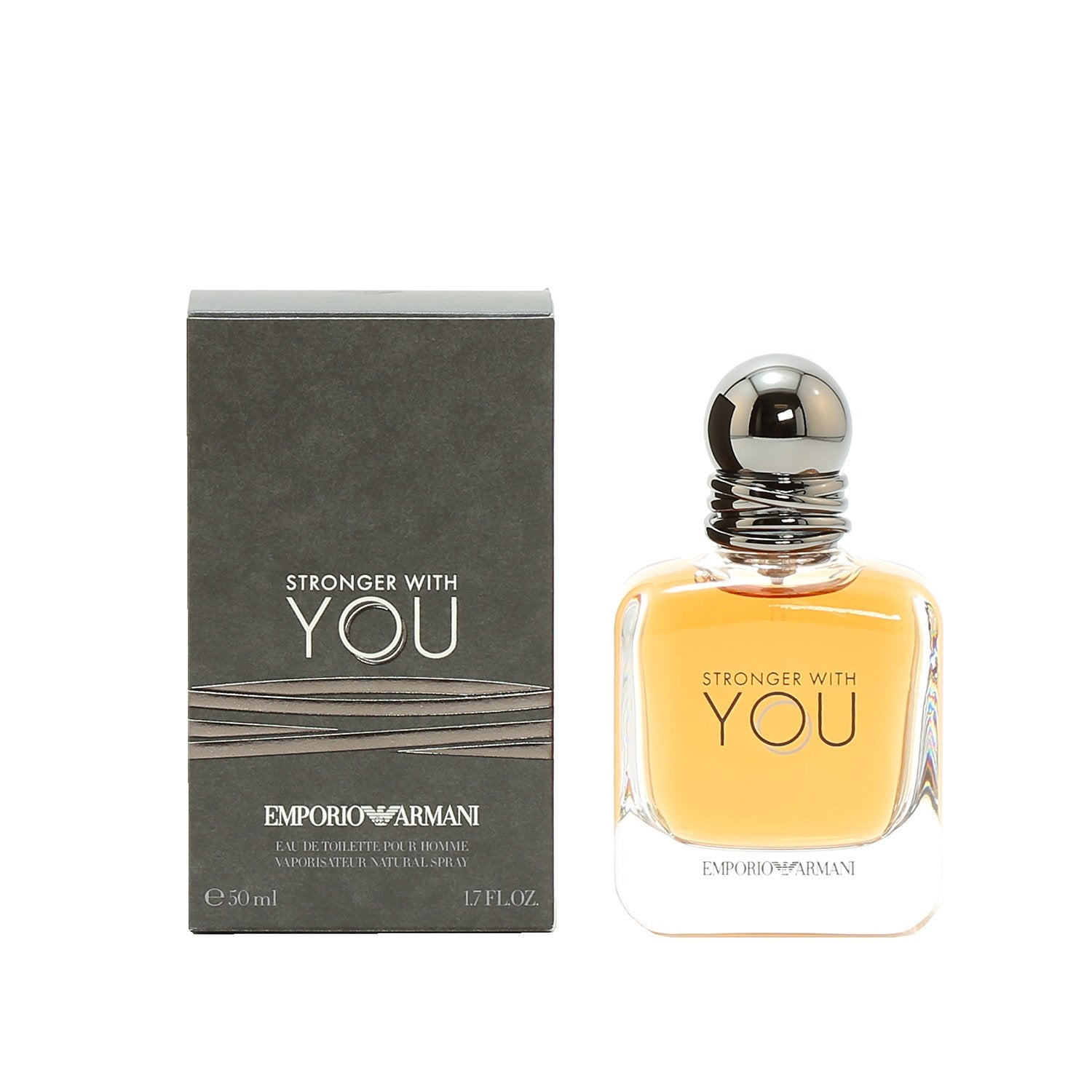 Cologne - ARMANI STRONGER WITH YOU FOR MEN - EAU DE TOILETTE SPRAY, 1.7 OZ