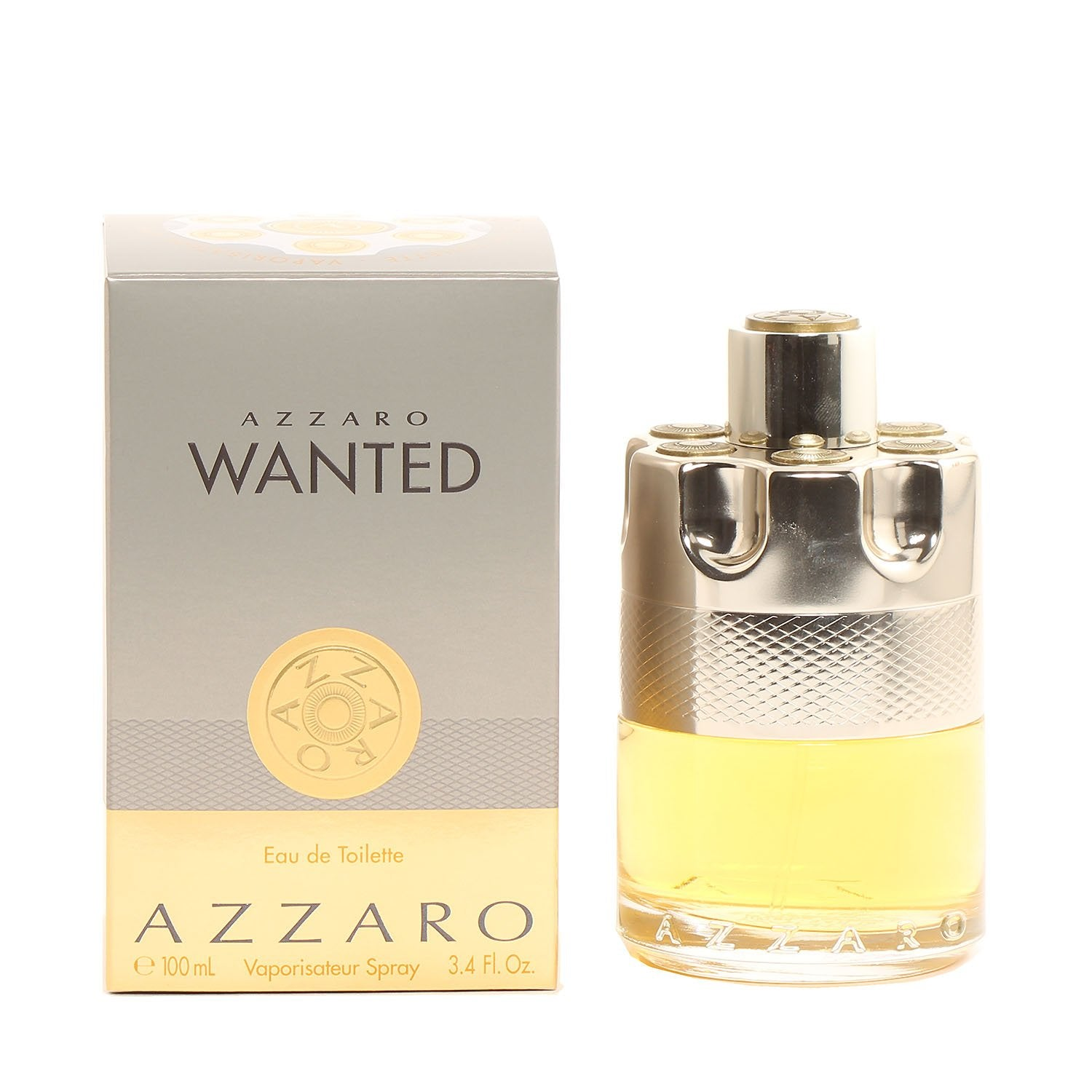 Cologne - AZZARO WANTED FOR MEN - EAU DE TOILETTE SPRAY, 3.4 OZ