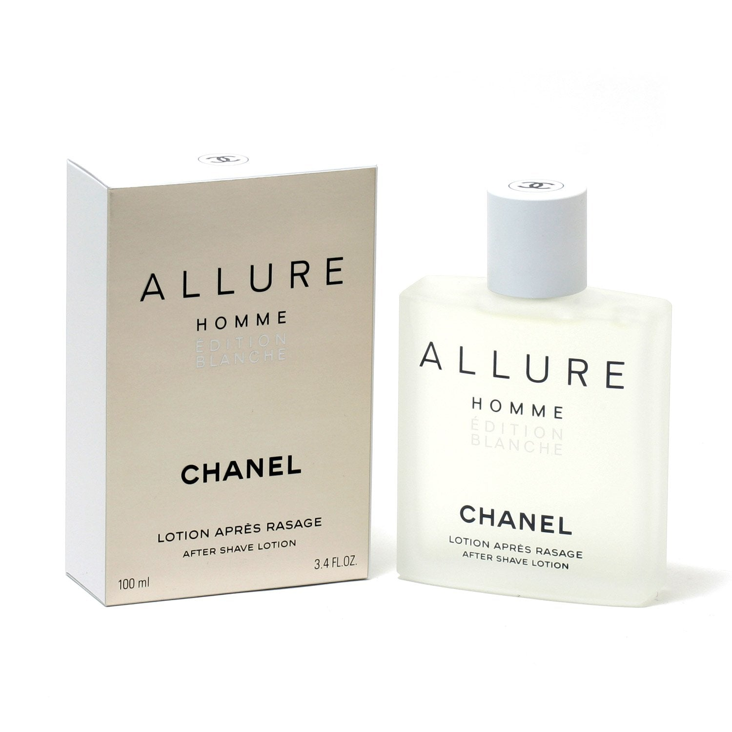 3c4d7b103a72 Cologne - CHANEL ALLURE MEN BLANCHE EDITION - AFTER SHAVE LOTION, 3.4 OZ
