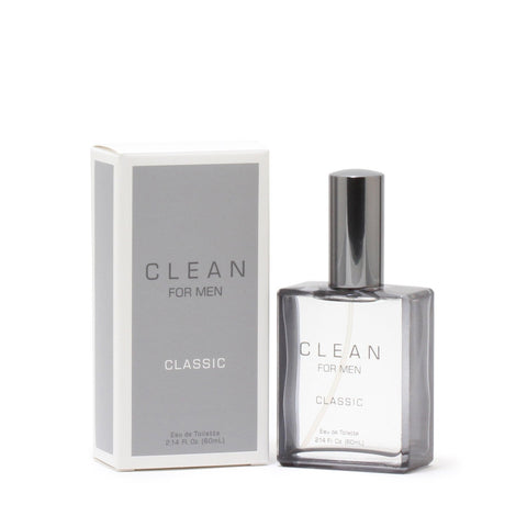 Cologne - CLEAN FOR MEN CLASSIC - EAU DE TOILETTE SPRAY, 2.14 OZ