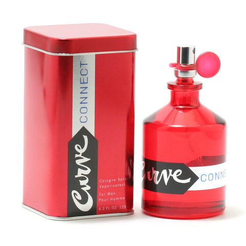 Cologne - CURVE CONNECT FOR  MEN BY LIZ CLAIBORNE - COLOGNE SPRAY, 4.2 OZ