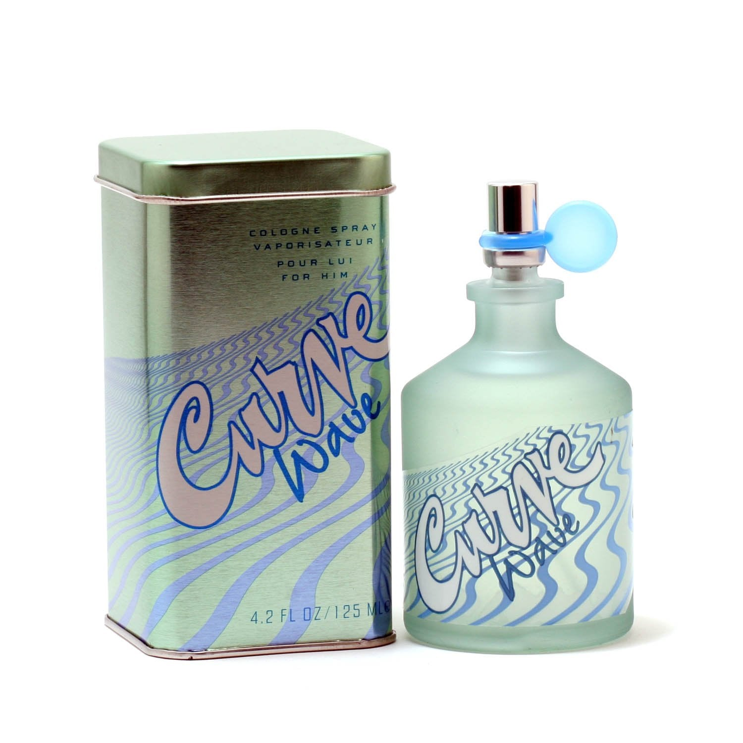 Cologne - CURVE WAVE FOR MEN BY LIZ CLAIBORNE - COLOGNE SPRAY