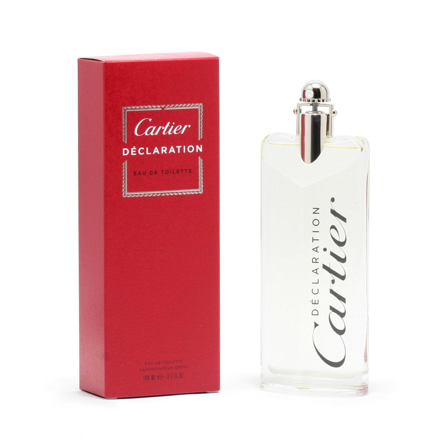 Cologne - DECLARATION FOR MEN BY CARTIER - EAU DE TOILETTE SPRAY, 3.3 OZ